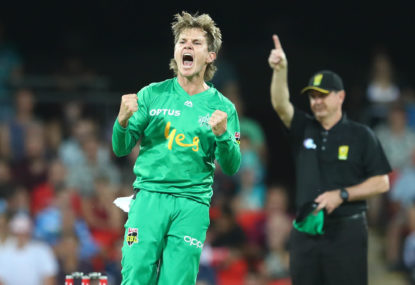 Melbourne Stars vs Hobart Hurricanes: BBL cricket live scores, blog