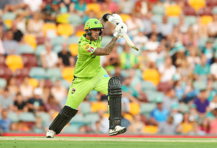 Alex Hales of the Thunder bats