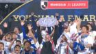Ange Postecoglou's Yokohama claim J-League title with crushing win