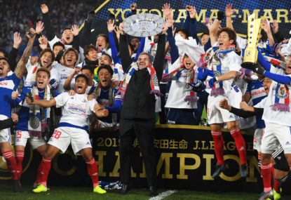 Postecoglou makes history with J-League title win