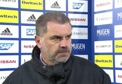 Ange Postecoglou speaks after historic J-League title win