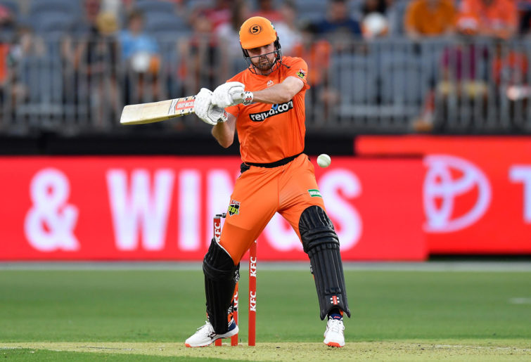 Ashton Turner of the Scorchers bats during the Big Bash League
