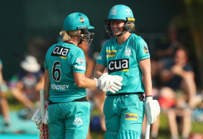 2019 WBBL Final live stream and TV guide