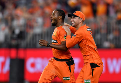 Perth Scorchers vs Hobart Hurricanes: BBL cricket live scores, blog
