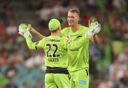 Sydney Thunder vs Melbourne Stars: BBL cricket live scores, blog