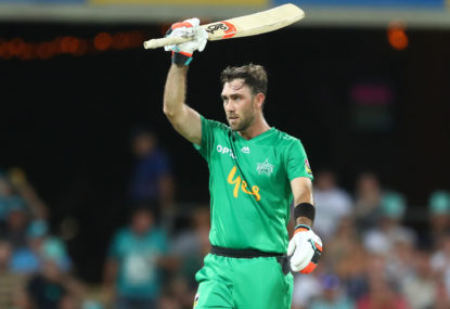 Glenn Maxwell's latest BBL finals failure stings
