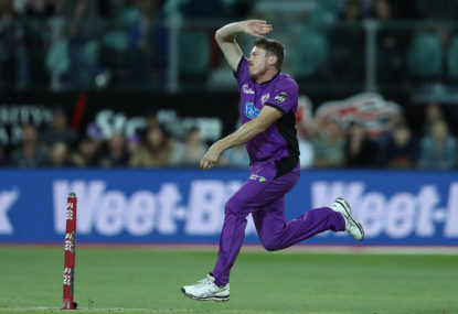 Hobart Hurricanes vs Brisbane Heat: BBL cricket live scores, blog