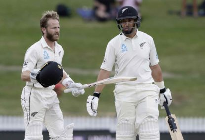 Veterans Taylor and Williamson remain NZ's heartbeat