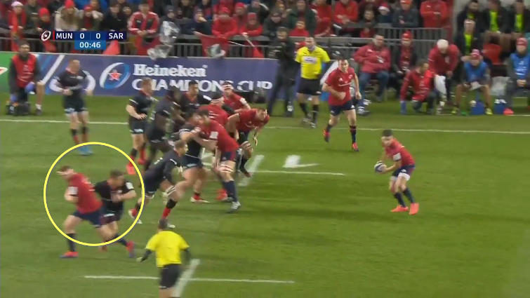 munster lineout attack