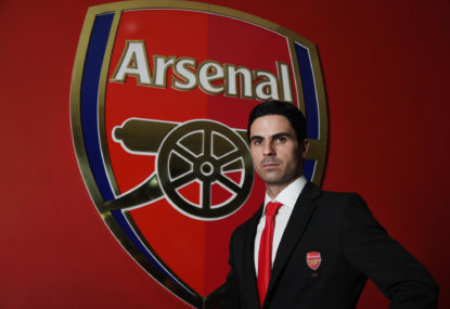 Arteta officially unveiled as Arsenal coach