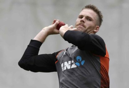 Lockie Ferguson is New Zealand's only chance to win the first Test