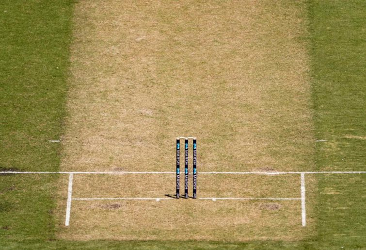 Generic cricket pitch image