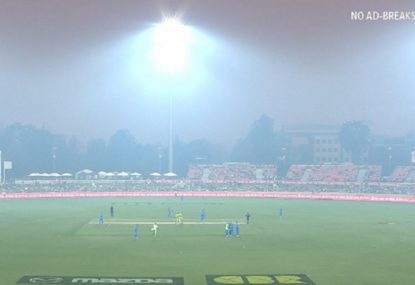 Drama as smoke forces Thunder-Strikers clash to be abandoned