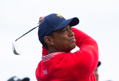 Tiger leads from the front to claim Presidents Cup for the USA