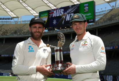 Aussies and Kiwis both stewing over SCG line-ups