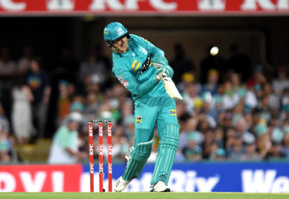 Brisbane Heat vs Hobart Hurricanes: BBL cricket live scores, blog