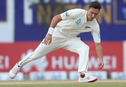 Confirmed: Trent Boult to miss Perth Test with injury