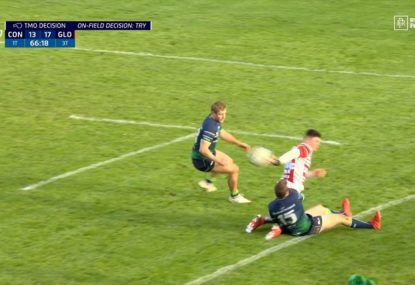 18-year-old Wales prospect's ridiculous offload