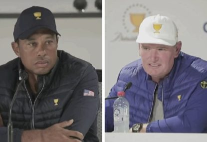 Tiger Woods accuses Aussie crowd of going 'over the top'