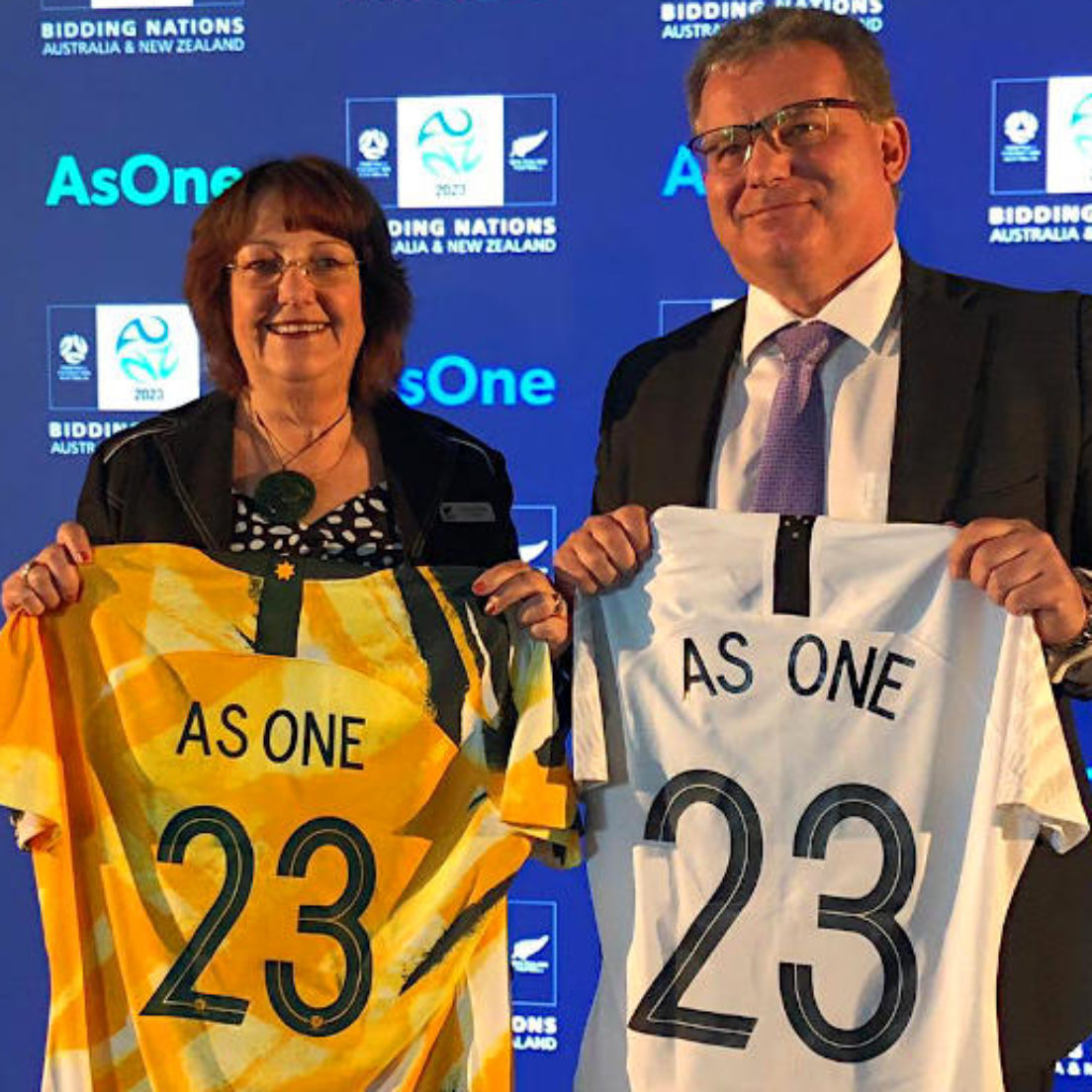 Australia and New Zealand confirm joint bid for 2023 Women's World Cup