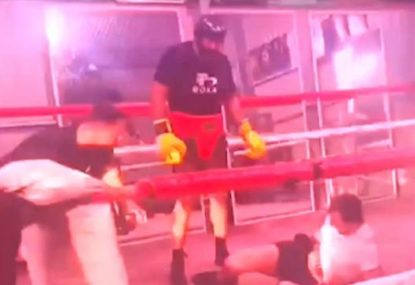 Justin Hodges flattens sparring partner with right hook ahead of Darcy Lussick bout
