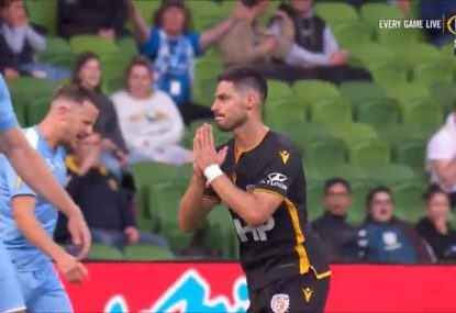Bruno Fornaroli scores early goal against old side Melbourne City because of course