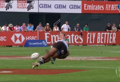 'Hit of the weekend' sparks 80m Fiji try at Dubai sevens