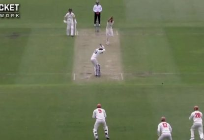 WATCH: George Bailey out first ball in his final innings for Tasmania