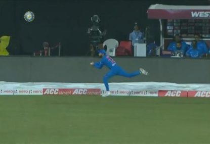 King Kohli stuns everyone with absolute screamer on the boundary