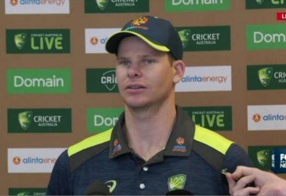 Steve Smith defends the MCG pitch ahead of Boxing Day