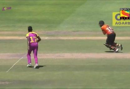 Sri Lankan bowler praised for supreme act of sportsmanship
