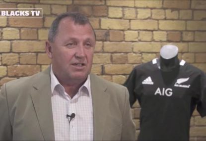 Ian Foster speaks after being unveiled as the new All Blacks coach