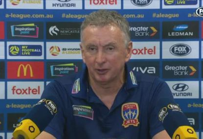 Ernie Merrick laments 'very poor' loss to Melbourne City after conceding four goals