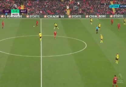 Commentator tries to liven up Liverpool match with a lame dad joke