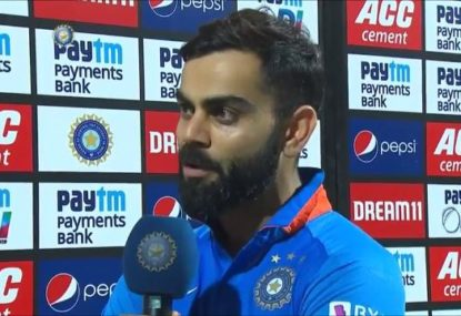 'Never seen that happen': Kohli blasts controversial run out