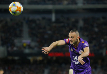 Perth Glory vs Central Coast Mariners: A-League live scores