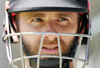 The Black Caps' batting was outclassed and overawed