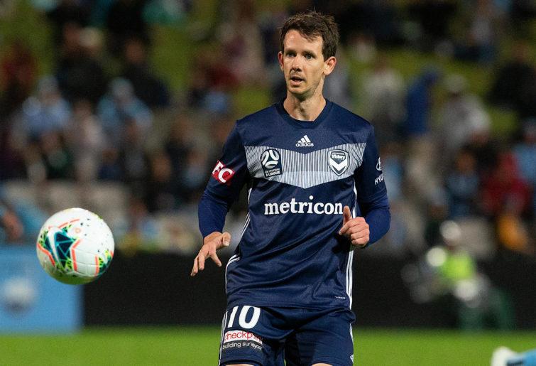 Robbie Kruse of Melbourne Victory