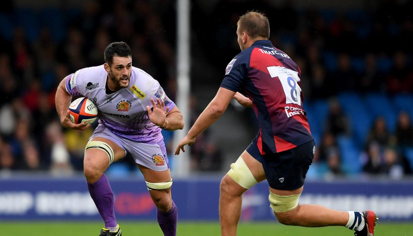 Ex Waratah Dave Dennis Is Hunting The Double With The Exeter Chiefs This Season