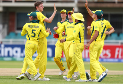 Aussie cricketers in hot water over