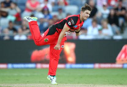 Melbourne Renegades vs Hobart Hurricanes: Big Bash League cricket live scores, blog