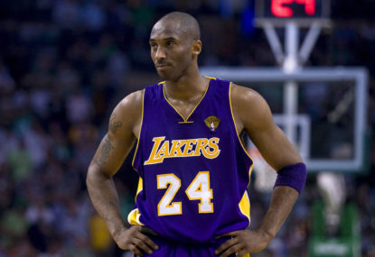 Vale Kobe Bryant, a basketball and Lakers great