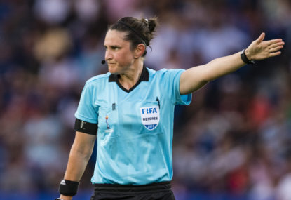 A-League gets first female ref