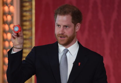 Prince Harry swaps Megxit drama for Rugby League World Cup draw