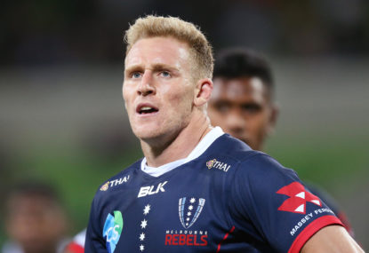 Super Rugby AU Round 2 teams: Hodge to the bench for Rebels, Hunt back in Tahs lineup