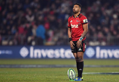 Chiefs vs Crusaders: Super Rugby Aotearoa live scores