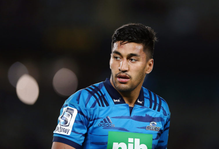 Rieko Ioane of the Blues looks on