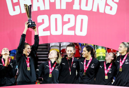 New Zealand's Silver Ferns claim inaugural netball Nations Cup