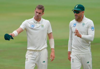 South Africa face ban from international cricket