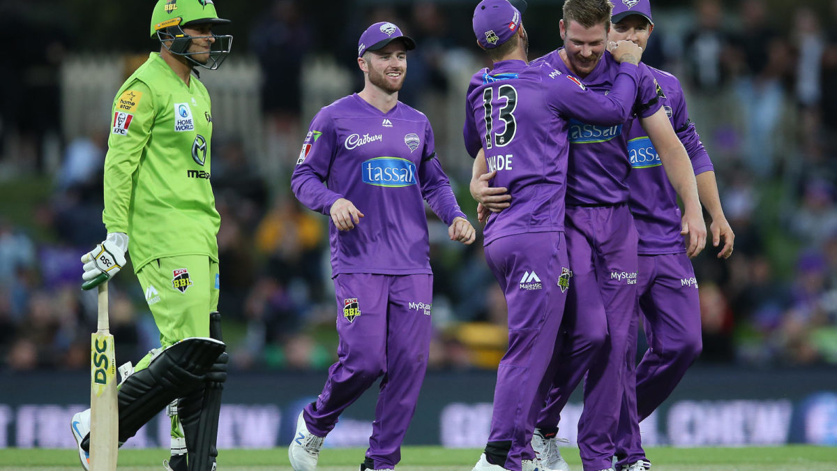 Thunder fall in a heap to open the door for Brisbane and Hobart